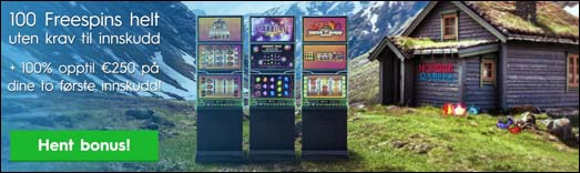 freespins hos NorgesCasino